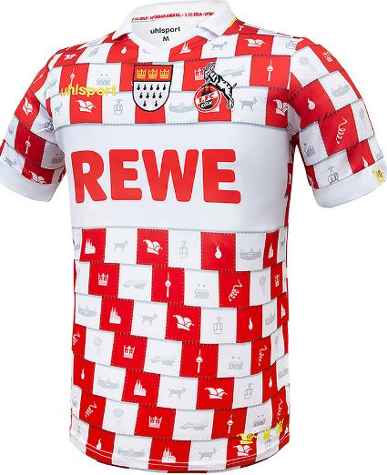 1 FC Köln Karnevals Trikot   Limited Edition   Uhlsport