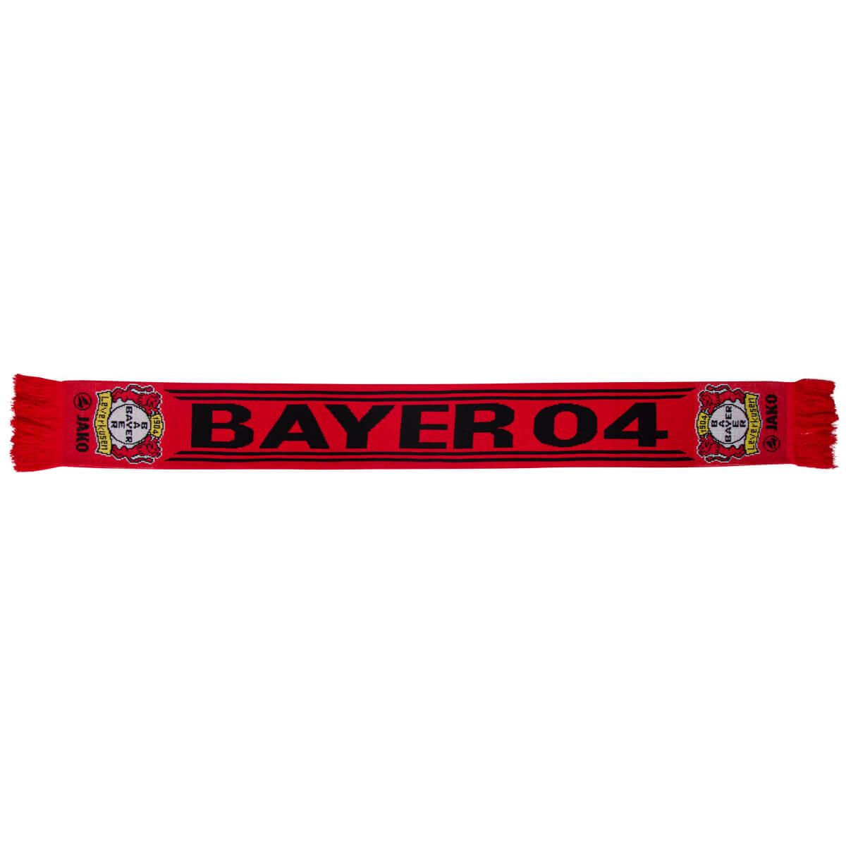 Jako Bayer 04 Leverkusen Fan-Schal  BA1205  | div. Größen / Farben