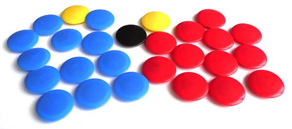 Jako Ersatzmagnete Taktiktafel  2160  | div. Größen / Farben